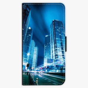 Flipové pouzdro iSaprio - Night City Blue - Samsung Galaxy S9