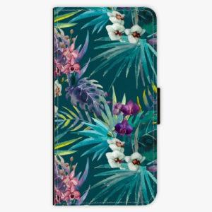 Flipové pouzdro iSaprio - Tropical Blue 01 - Samsung Galaxy A8 Plus