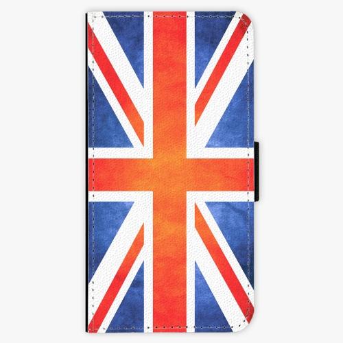 Flipové pouzdro iSaprio - UK Flag - Samsung Galaxy A8 Plus