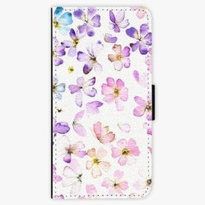 Flipové pouzdro iSaprio - Wildflowers - Samsung Galaxy A8 Plus