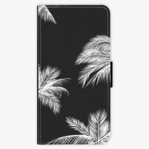 Flipové pouzdro iSaprio - White Palm - Samsung Galaxy A8 Plus