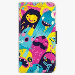 Flipové pouzdro iSaprio - Monsters - Samsung Galaxy A8 Plus