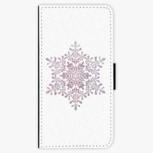 Flipové pouzdro iSaprio - Snow Flake - Samsung Galaxy A8 Plus