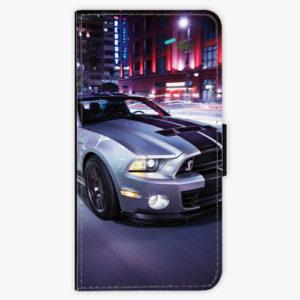 Flipové pouzdro iSaprio - Mustang - Samsung Galaxy A8 Plus