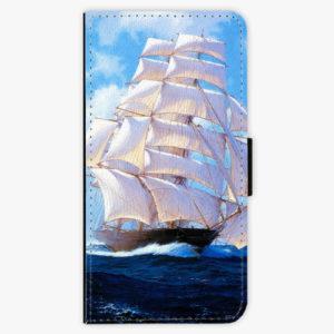 Flipové pouzdro iSaprio - Sailing Boat - Samsung Galaxy A8 Plus