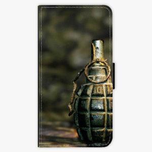 Flipové pouzdro iSaprio - Grenade - Samsung Galaxy A8 Plus