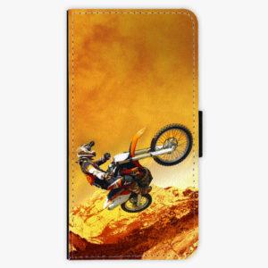 Flipové pouzdro iSaprio - Motocross - Samsung Galaxy A8 Plus