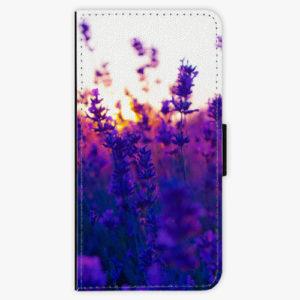 Flipové pouzdro iSaprio - Lavender Field - Samsung Galaxy A8 Plus