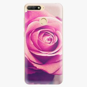 Plastový kryt iSaprio - Pink Rose - Huawei Y6 Prime 2018