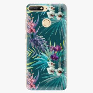 Plastový kryt iSaprio - Tropical Blue 01 - Huawei Y6 Prime 2018