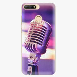 Plastový kryt iSaprio - Vintage Microphone - Huawei Y6 Prime 2018