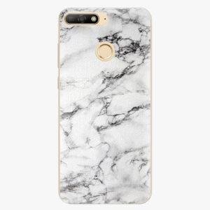 Plastový kryt iSaprio - White Marble 01 - Huawei Y6 Prime 2018