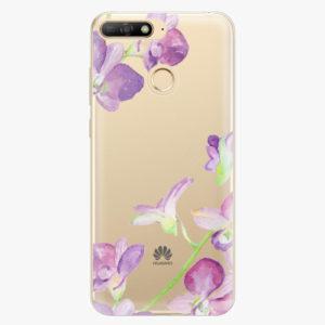 Plastový kryt iSaprio - Purple Orchid - Huawei Y6 Prime 2018