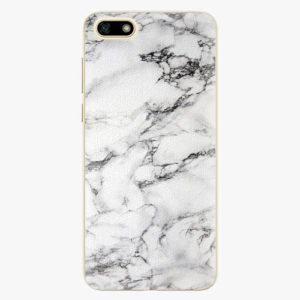 Plastový kryt iSaprio - White Marble 01 - Huawei Y5 2018