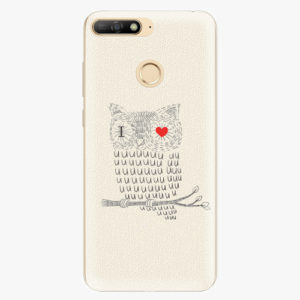 Plastový kryt iSaprio - I Love You 01 - Huawei Y6 Prime 2018