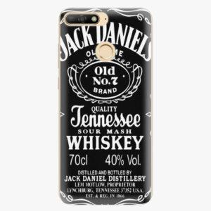 Plastový kryt iSaprio - Jack Daniels - Huawei Y6 Prime 2018