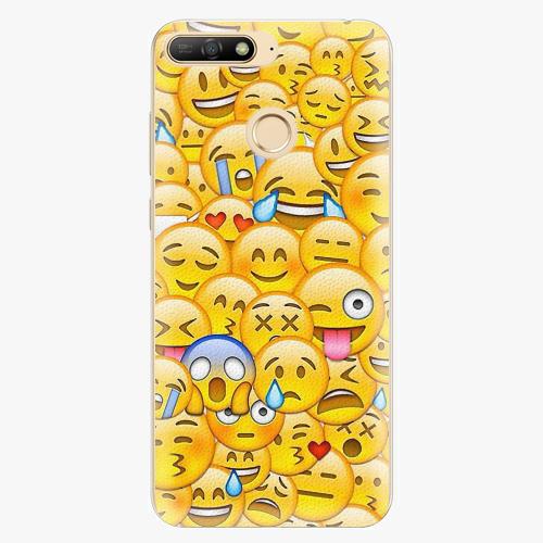 Plastový kryt iSaprio - Emoji - Huawei Y6 Prime 2018