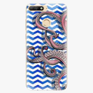 Plastový kryt iSaprio - Octopus - Huawei Y6 Prime 2018