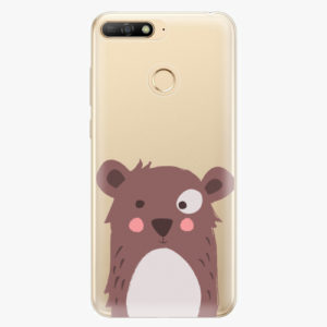 Plastový kryt iSaprio - Brown Bear - Huawei Y6 Prime 2018