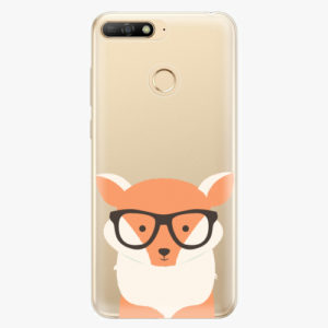 Plastový kryt iSaprio - Orange Fox - Huawei Y6 Prime 2018