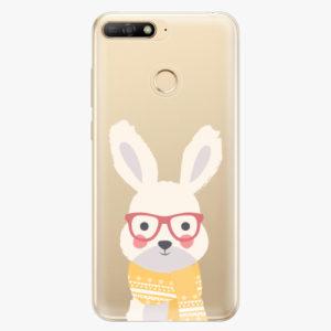Plastový kryt iSaprio - Smart Rabbit - Huawei Y6 Prime 2018