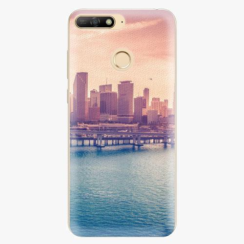 b4861ee41 Plastový kryt iSaprio - Morning in a City - Huawei Y6 Prime 2018 ...