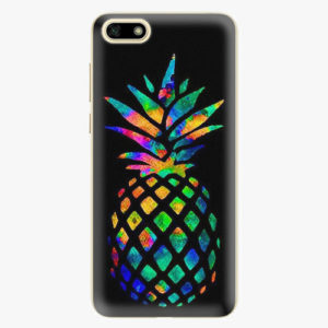 Plastový kryt iSaprio - Rainbow Pineapple - Huawei Y5 2018