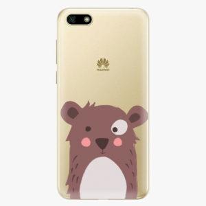Plastový kryt iSaprio - Brown Bear - Huawei Y5 2018