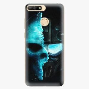 Plastový kryt iSaprio - Roboskull - Huawei Y6 Prime 2018