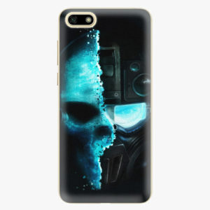 Plastový kryt iSaprio - Roboskull - Huawei Y5 2018