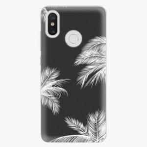 Plastový kryt iSaprio - White Palm - Xiaomi Mi 8