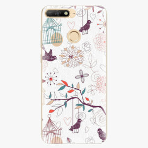 Plastový kryt iSaprio - Birds - Huawei Y6 Prime 2018