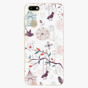 Plastový kryt iSaprio - Birds - Huawei Y5 2018