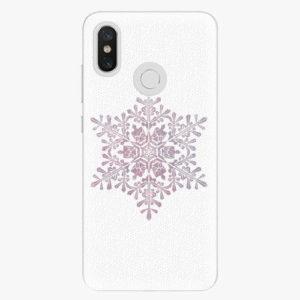 Plastový kryt iSaprio - Snow Flake - Xiaomi Mi 8