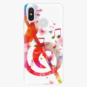 Plastový kryt iSaprio - Love Music - Xiaomi Mi 8