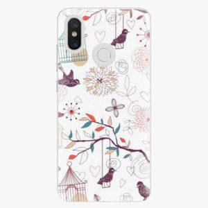 Plastový kryt iSaprio - Birds - Xiaomi Mi 8