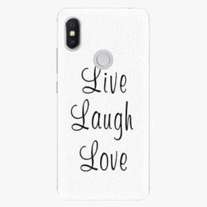 Plastový kryt iSaprio - Live Laugh Love - Xiaomi Redmi S2