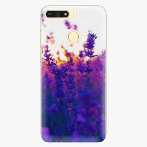 Plastový kryt iSaprio - Lavender Field - Huawei Honor 7A