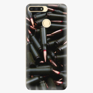 Plastový kryt iSaprio - Black Bullet - Huawei Honor 7A