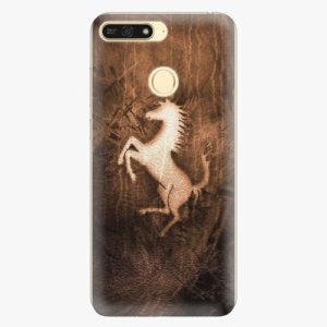Plastový kryt iSaprio - Vintage Horse - Huawei Honor 7A