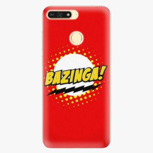 Plastový kryt iSaprio - Bazinga 01 - Huawei Honor 7A