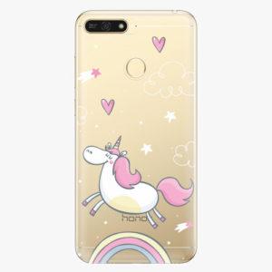 Plastový kryt iSaprio - Unicorn 01 - Huawei Honor 7A