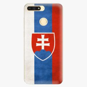 Plastový kryt iSaprio - Slovakia Flag - Huawei Honor 7A