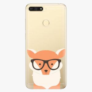 Plastový kryt iSaprio - Orange Fox - Huawei Honor 7A
