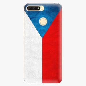 Plastový kryt iSaprio - Czech Flag - Huawei Honor 7A
