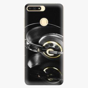 Plastový kryt iSaprio - Headphones 02 - Huawei Honor 7A