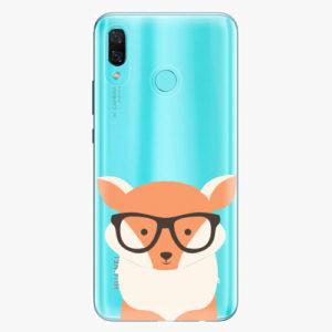 Plastový kryt iSaprio - Orange Fox - Huawei Nova 3