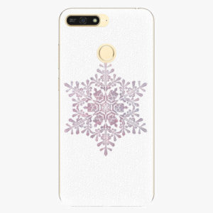 Plastový kryt iSaprio - Snow Flake - Huawei Honor 7A