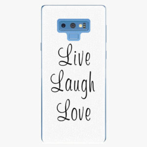 Plastový kryt iSaprio - Live Laugh Love - Samsung Galaxy Note 9