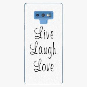Plastový kryt iSaprio - Live Laugh Love - Samsung Galaxy Note 9